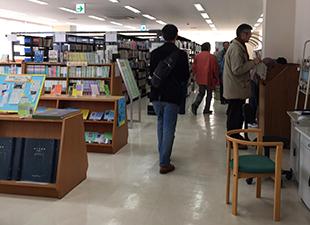 橋本市図書館 見学