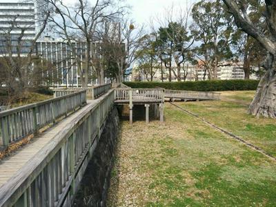 和歌山公園 二の丸大奥跡