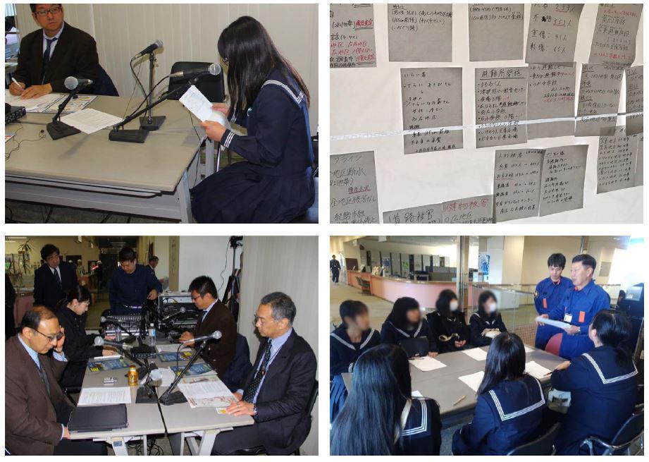 広川町臨時災害放送局設置運営訓練